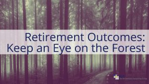 Retirement Outcomes: Keep an Eye on the Forest