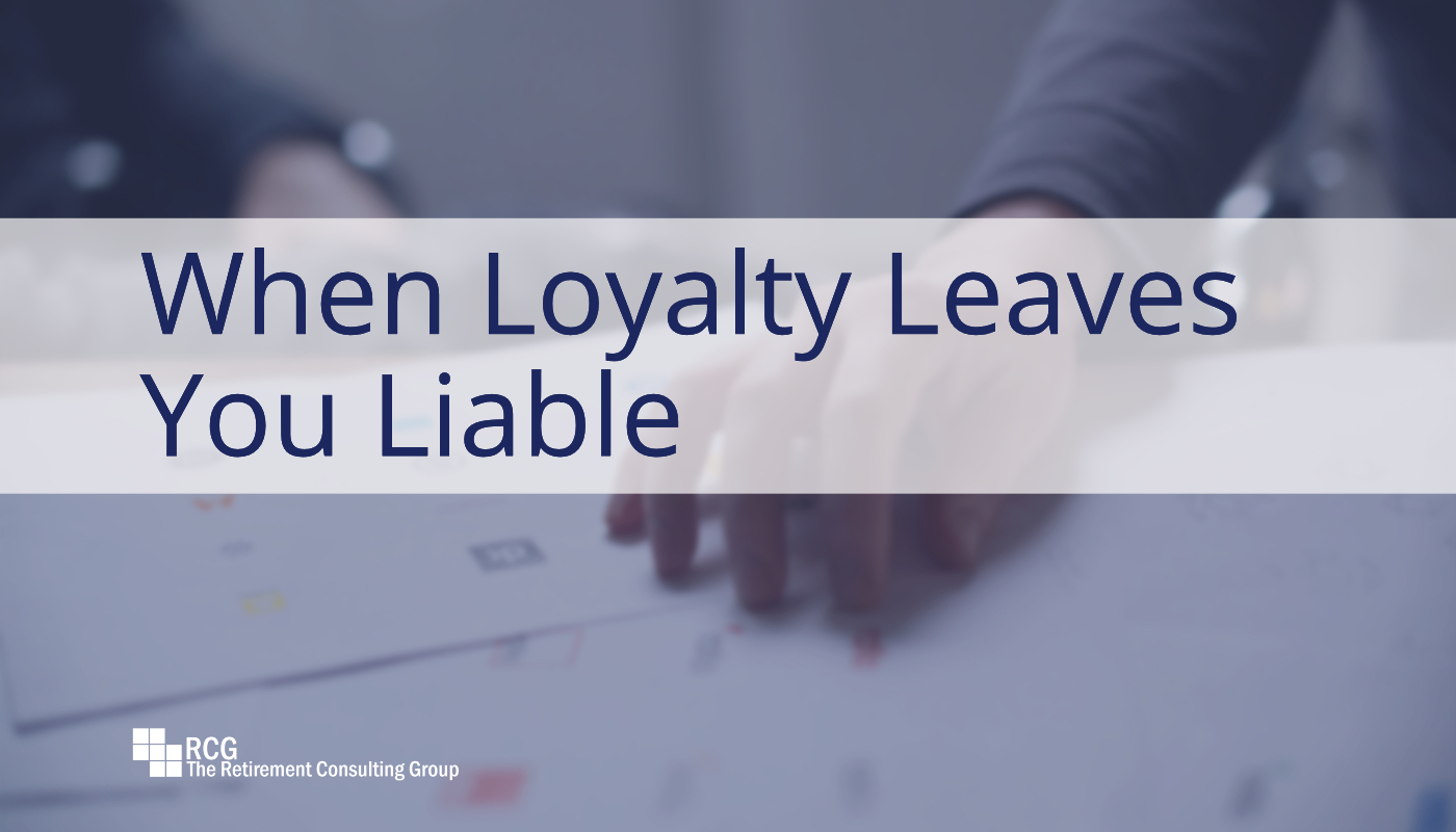 When Loyalty Leaves You Liable Conduct An Objective Review